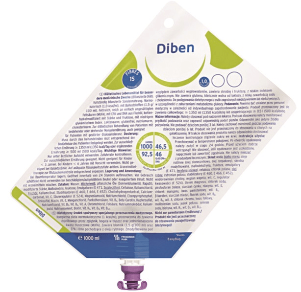 Diben 1.0 SF litro - Fresenius