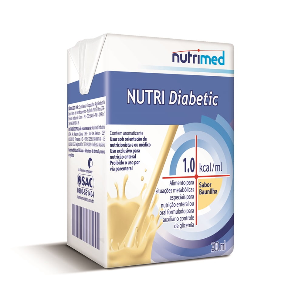 Nutri Diabetic 1.0 200 ml baunilha