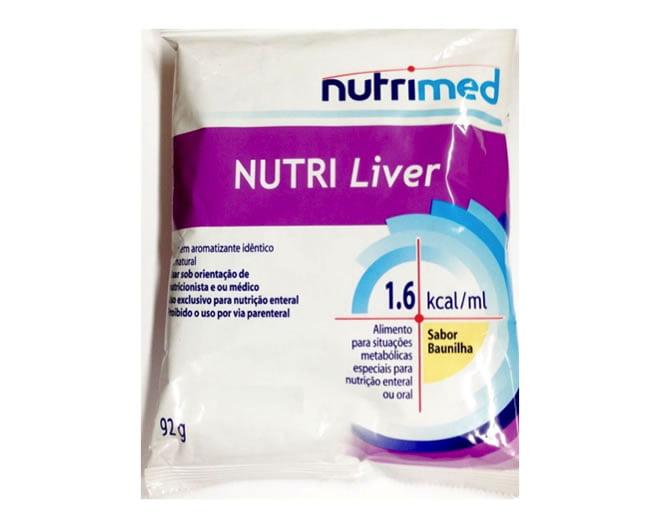 Nutri Liver 1.6 baunilha em pó 92g