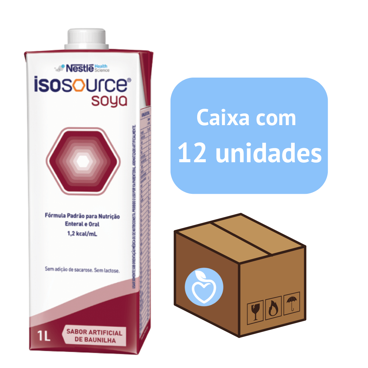 ISOSOURCE SOYA 1.2 CX C/12 litros