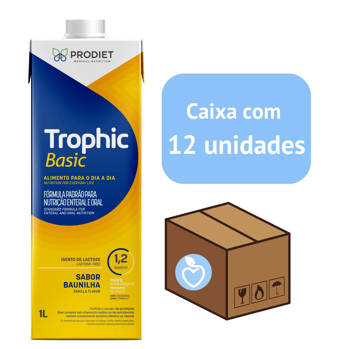 TROPHIC BASIC 1.2 LITRO CX C/12 litros - Prodiet