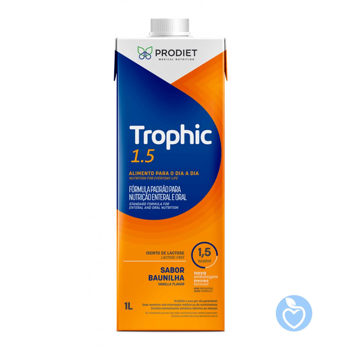 Trophic 1.5 Kcal - 1000 ml - Espaço Nutrição Porto alegre