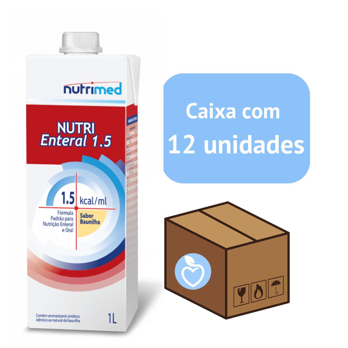 Nutri Enteral 1.5 Kcal - caixa com 12 unidades - Nutrimed