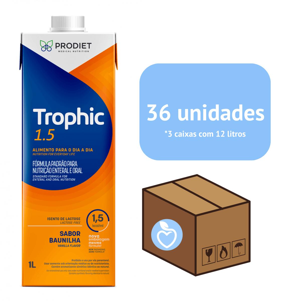 TROPHIC 1.5 LITRO - 36 UNIDADES - Prodiet