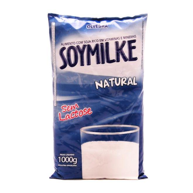 Soymilk natural sem lactose pacote 1kg