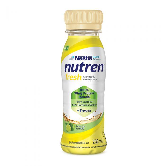 Nutren Fresh 200 ml sabor chá de limão