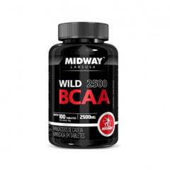 BCAA Midway com 100 tabletes -  2.500 mg