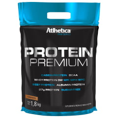 Whey Protein Atlhetica sabor chocolate - 1,8kg