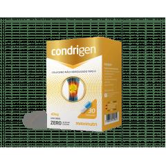 Condrigen colágeno não hidrolisado tipo 2 - zero açúcar & zero lactose  40mg - c/30 cápsulas